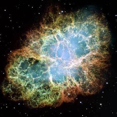 A Giant Hubble Mosaic of the Crab Nebula,  Credit: NASA, ESA, J. Hester and A. Loll  (Arizona State University)