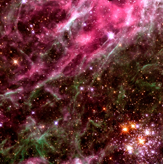The Hodge 301 Cluster in the Tarantula Nebula Credit: The Hubble Heritage Team (AURA/STSci/NASA)