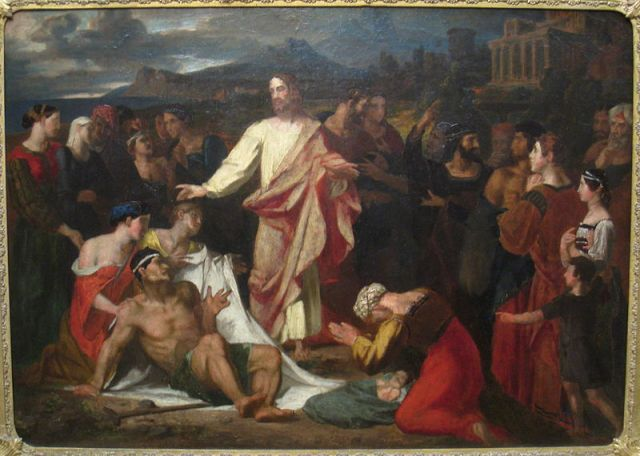 Christ Healing the Sick  Painting by Washington Allston, 1813 Source: Wikimedia Commons