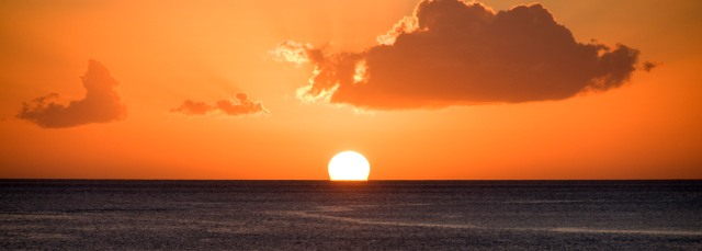 Dominica Sunset Copyright 2008 by Blair Atherton