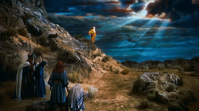 Matte Painting Appearing as Background in the Hollywood Movie The Ten Commandments Source: http://nzpetesmatteshot.blogspot.com